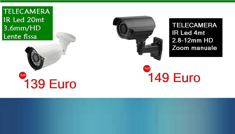 Telecamera Poffir 3040